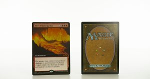 Fiery Emancipation extended art core set 2021 M21 foil mtg proxy magic the gathering tournament proxies GP FNM available