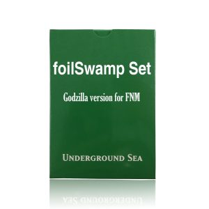 24 pieces per set foilSwamp Godzilla fixed set mtg proxy magic the gathering tournament proxies GP FNM available