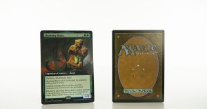 Questing Beast (extended art) ELD Throne of Eldraine foil mtg proxy magic the gathering tournament proxies GP FNM available