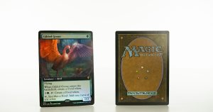 Gilded Goose ELD Throne of Eldraine foil mtg proxy magic the gathering tournament proxies GP FNM available