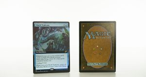 Shark Typhoon extended art Ikoria: Lair of Behemoths (IKO) foil mtg proxy magic the gathering tournament proxies GP FNM available