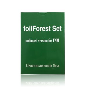 24 pieces per set foilForest unhinged fixed set mtg proxy magic the gathering tournament proxies GP FNM available