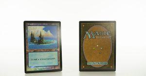 Island Urza's Saga arena land foil mtg proxy magic the gathering tournament proxies GP FNM available