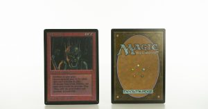 goblin king  B Limited Edition Beta (LEB) mtg proxy magic the gathering tournament proxies GP FNM available