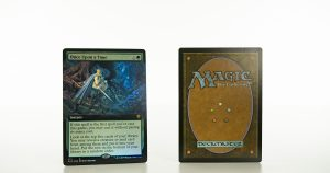Once upon a Time (extended art) ELD Throne of Eldraine foil mtg proxy magic the gathering tournament proxies GP FNM available