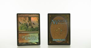 Wooded Foothills Judge Gift Cards 2009 mtg proxy magic the gathering tournament proxies GP FNM available