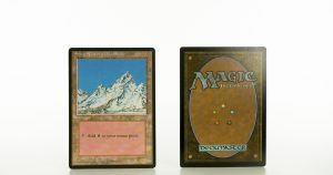 Snow-Covered mountain Ice Age mtg proxy magic the gathering tournament proxies GP FNM available
