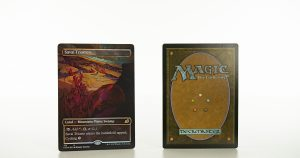 Savai Triome full art Ikoria: Lair of Behemoths (IKO) foil mtg proxy magic the gathering tournament proxies GP FNM available