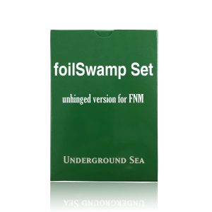 24 pieces per set foilSwamp unhinged fixed set mtg proxy magic the gathering tournament proxies GP FNM available