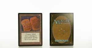 Copper Tablet beta mtg proxy magic the gathering tournament proxies GP FNM available