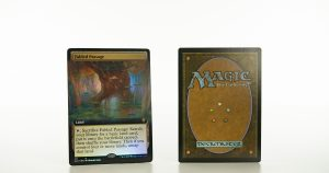 Fabled Passage (extended art) ELD Throne of Eldraine foil mtg proxy magic the gathering tournament proxies GP FNM available