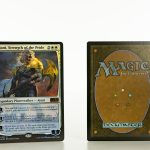 ajani strength of the pride M20 foil mtg proxy magic the gathering tournament proxies GP FNM available