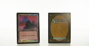 Mountain Urza's Saga arena land foil mtg proxy magic the gathering tournament proxies GP FNM available
