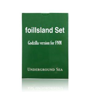24 pieces per set foilIsland Godzilla fixed set mtg proxy magic the gathering tournament proxies GP FNM available