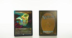 Zagoth Triome full art Ikoria: Lair of Behemoths (IKO) foil mtg proxy magic the gathering tournament proxies GP FNM available