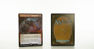 Terror of the Peaks extended art core set 2021 M21 foil mtg proxy magic the gathering tournament proxies GP FNM available