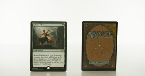 Sylvan Library Commander Collection: Green (CC1) hologram mtg proxy magic the gathering tournament proxies GP FNM available