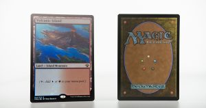 Volcanic Island vintage masters vma foil mtg proxy magic the gathering tournament proxies GP FNM available