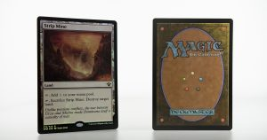 Strip Mine vintage masters vma foil mtg proxy magic the gathering tournament proxies GP FNM available