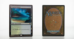 Tropical Island vintage masters vma foil mtg proxy magic the gathering tournament proxies GP FNM available