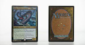 Koma, Cosmos Serpent Kaldheim (KHM) foil mtg proxy magic the gathering tournament proxies GP FNM available