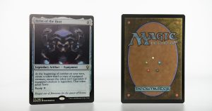 Helm of the Host Dominaria DOM foil mtg proxy magic the gathering tournament proxies GP FNM available
