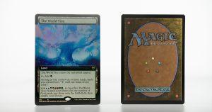 The World Tree extended art Kaldheim (KHM) foil mtg proxy magic the gathering tournament proxies GP FNM available