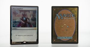 Mox Sapphire vintage masters vma foil mtg proxy magic the gathering tournament proxies GP FNM available