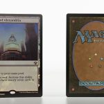 Library of Alexandria vintage masters vma foil mtg proxy magic the gathering tournament proxies GP FNM available