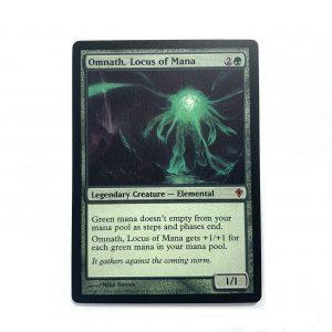 Omnath, Locus of Mana Worldwake mtg proxy magic the gathering tournament proxies GP FNM available