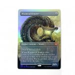 Wurmcoil Engine Extended Art 2XM Double Masters foil German black core mtg magic the gathering proxy for FNM GP tournament