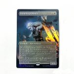 Stoneforge Mystic Extended Art 2XM Double Masters foil German black core mtg magic the gathering proxy for FNM GP tournament