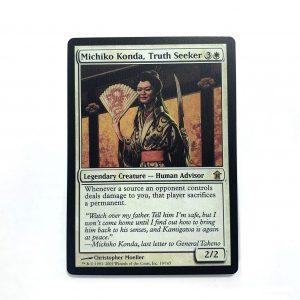Michiko Konda, Truth Seeker Saviors of Kamigawa (SOK) mtg proxy magic the gathering tournament proxies GP FNM available
