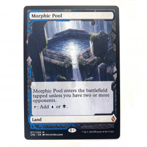 Morphic Pool ZNE Zendikar Expedition hologram German black core mtg magic the gathering proxy for FNM GP tournament