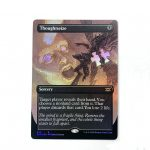 Thoughtseize Extended Art 2XM Double Masters foil German black core mtg magic the gathering proxy for FNM GP tournament