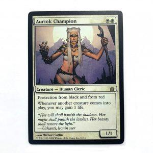 Auriok Champion fifth dawn 5dn mtg proxy magic the gathering tournament proxies GP FNM available