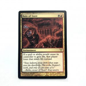 Rain of Gore Dissension (DIS) mtg proxy magic the gathering tournament proxies GP FNM available