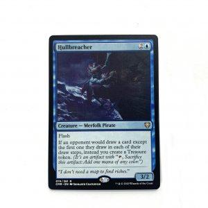 Hullbreacher Commander Legends (CMR) hologram German black core mtg magic the gathering proxy for FNM GP tournament