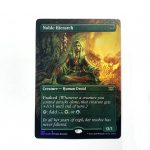 Noble Hierarch Extended Art 2XM Double Masters foil German black core mtg magic the gathering proxy for FNM GP tournament