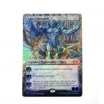 karn liberated extended art 2XM Double Masters foil German black core mtg magic the gathering proxy for FNM GP tournament