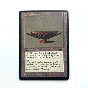 Golgothian Sylex Antiquities (ATQ) mtg proxy magic the gathering tournament proxies GP FNM available