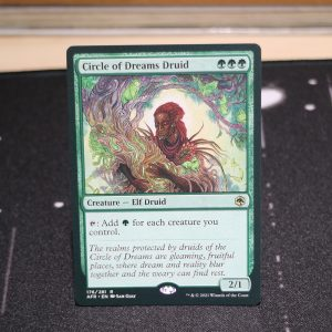 Circle of Dreams Druid Adventures in the Forgotten Realms (AFR) mtg proxy for GP FNM magic the gathering tournament proxies