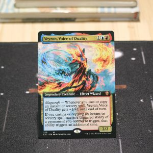 Veyran, Voice of Duality extended art Commander 2021 C21 mtg proxy for GP FNM magic the gathering tournament proxies