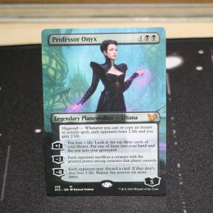 professor onyx extended art STX Strixhaven: School of Mages Commander 2021 mtg proxy for GP FNM magic the gathering tournament proxies