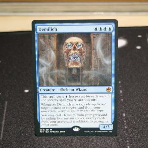 Demilich Adventures in the Forgotten Realms (AFR) mtg proxy for GP FNM magic the gathering tournament proxies