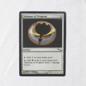 talisman of progress Mirrodin (MRD) mtg proxy for GP FNM magic the gathering tournament proxies