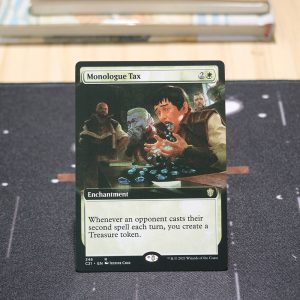 Monologue Tax extended art Commander 2021 C21 mtg proxy for GP FNM magic the gathering tournament proxies