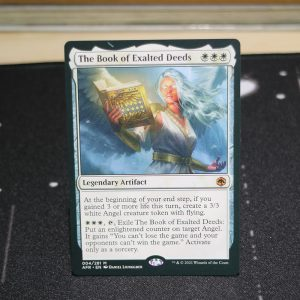 The Book of Exalted Deeds Adventures in the Forgotten Realms (AFR) mtg proxy for GP FNM magic the gathering tournament proxies