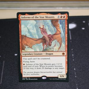 Inferno of the Star Mounts Adventures in the Forgotten Realms (AFR) mtg proxy for GP FNM magic the gathering tournament proxies