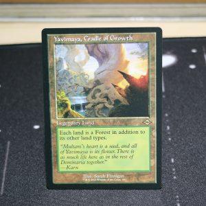 Yavimaya, Cradle of Growth old art Modern Horizon 2 MH2 mtg proxy for GP FNM magic the gathering tournament proxies